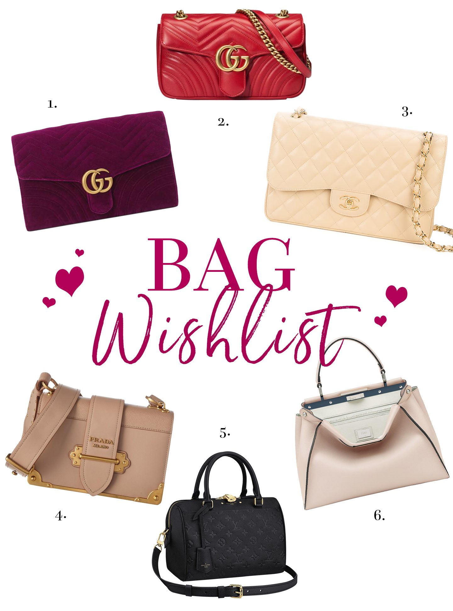 78b550e0d055 I haven't done a designer bag wishlist post in a very long time on here so  now that I don't have a big ol' wedding to pay for, I thought it was ...
