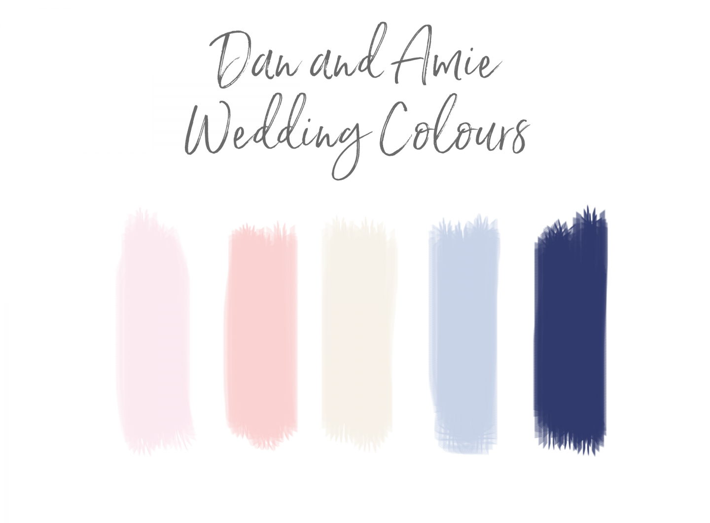 How To Pick Your Wedding Colour Palette Chase Amie