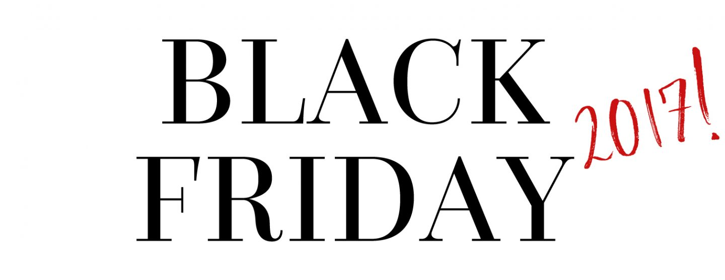 Black Friday deals and discount codes for 2017