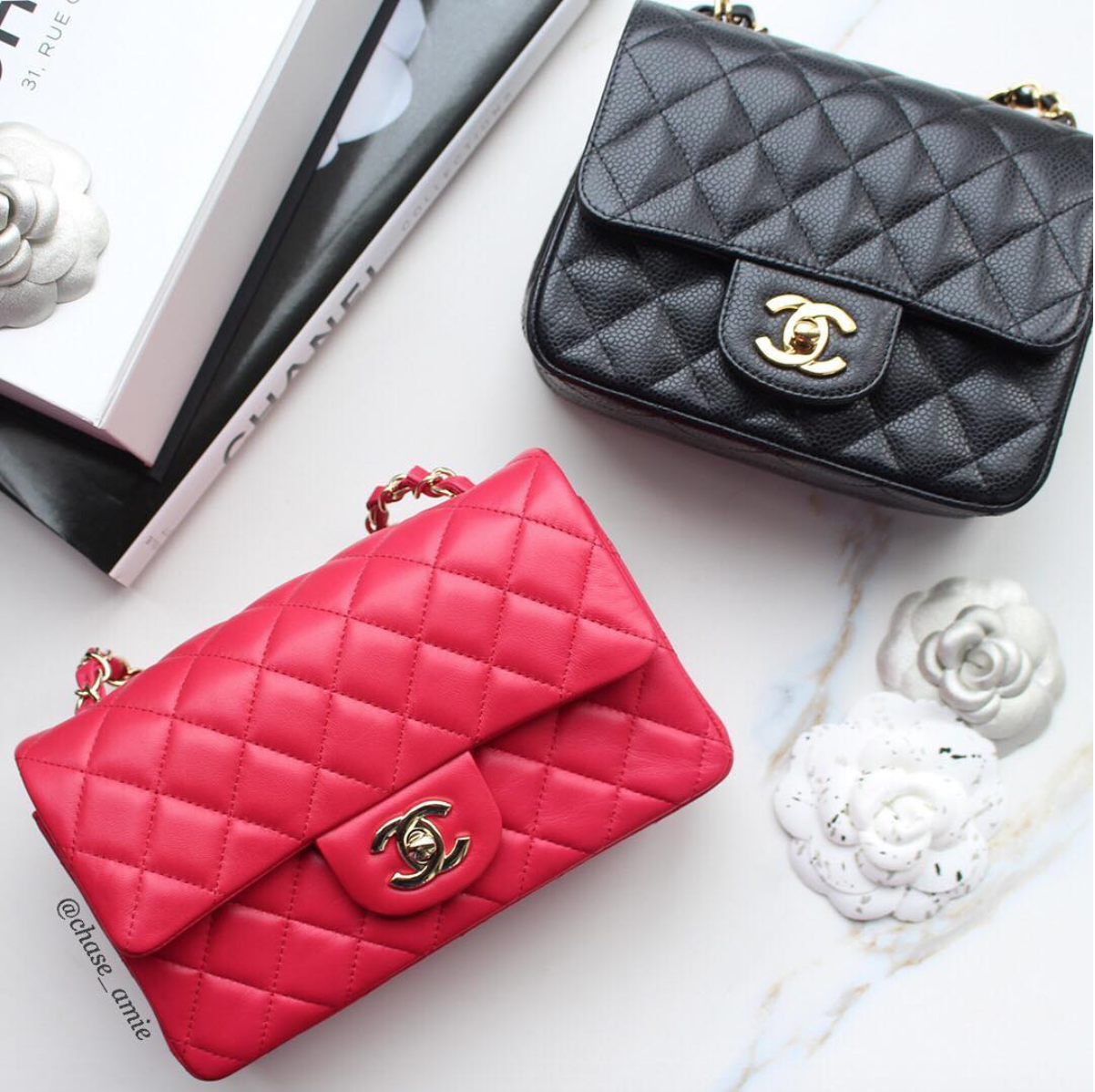 9ddeb8c10d99 How To Buy a Chanel Mini - Chase Amie