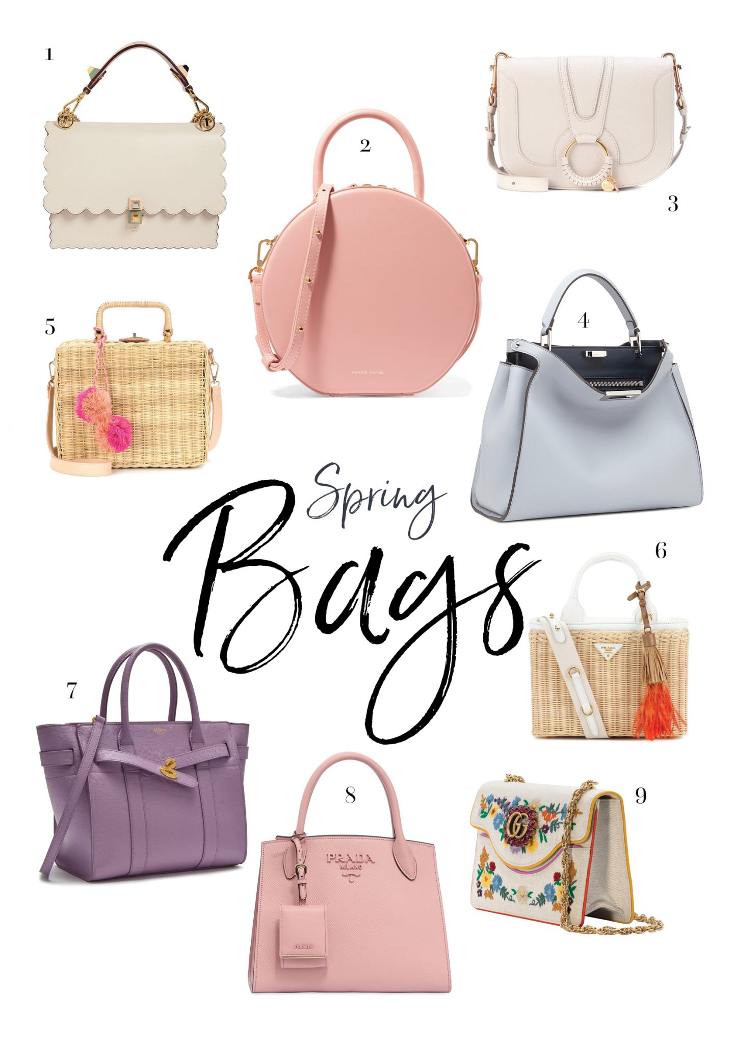 7d59b7975434 It's officially the start of a new season and what better way to celebrate  than with some gorgeous new bag inspiration? Spring is my favourite season  – even ...