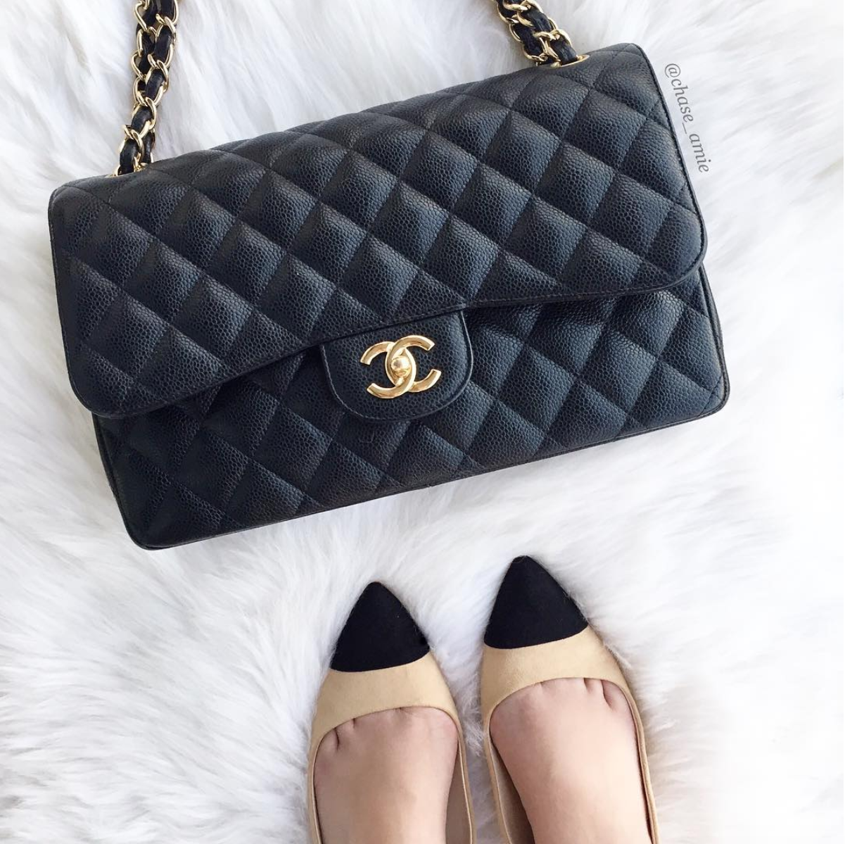ffc472a1a3ad Chanel 101: Lambskin vs. Caviar | Which is Best? - Chase Amie