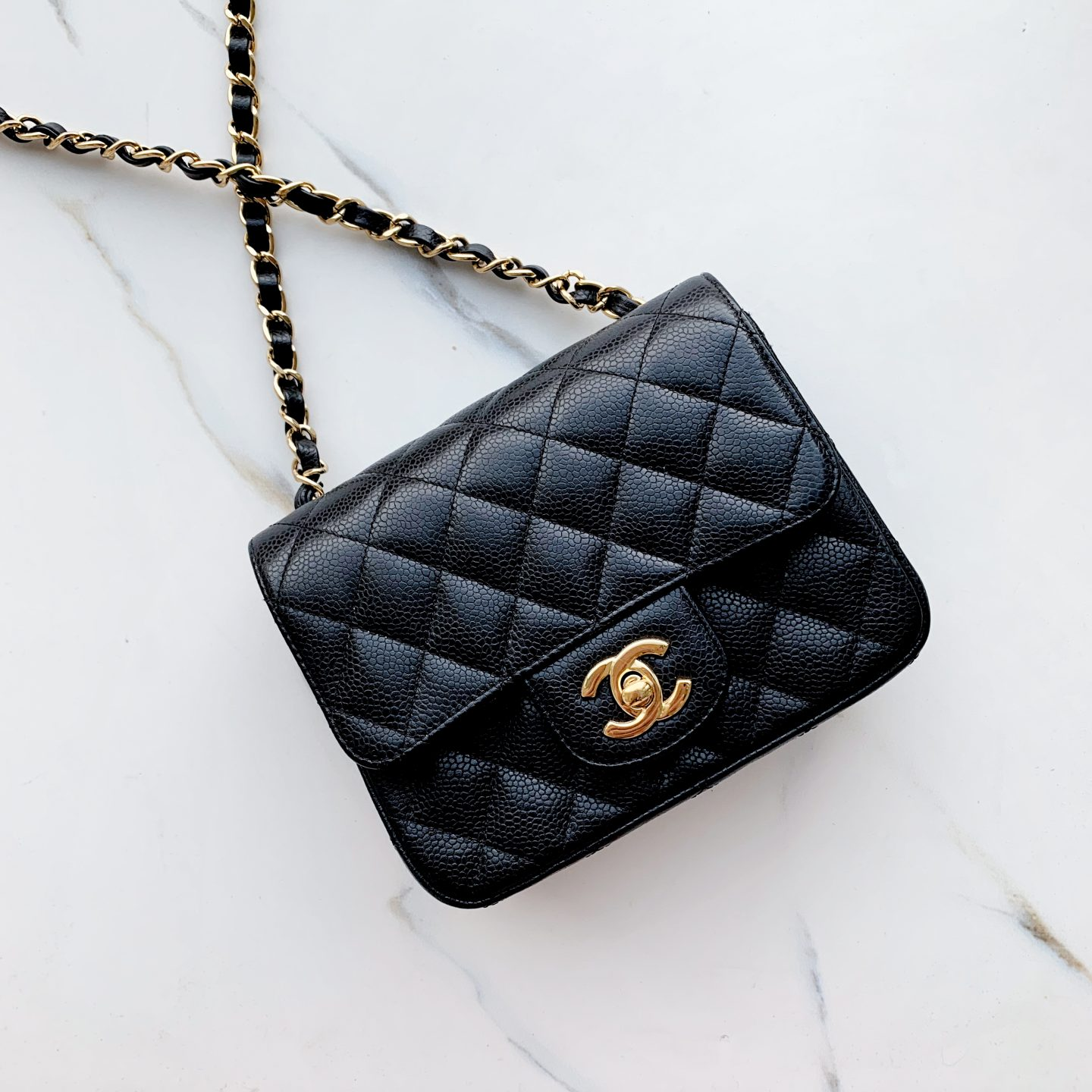 7d81b3cfade7 Leather and colour are also important factors to consider when deciding on  your first Chanel bag. Chanel offer many different varieties however the  two most ...